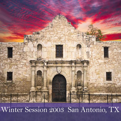 2003 Winter Session Written Materials (San Antonio, TX)